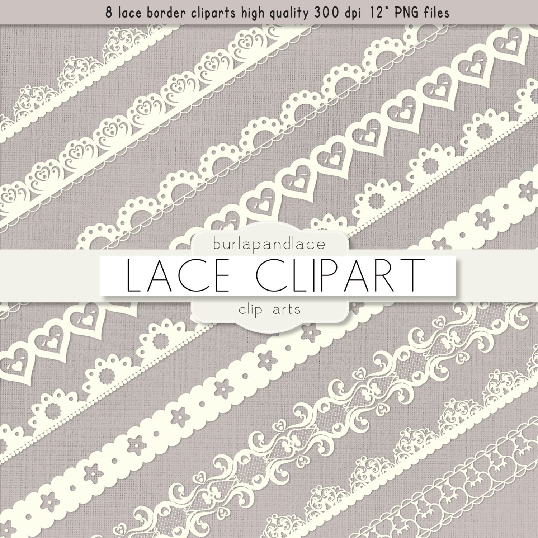 Clipart ivory lace borders clip art lace lace border