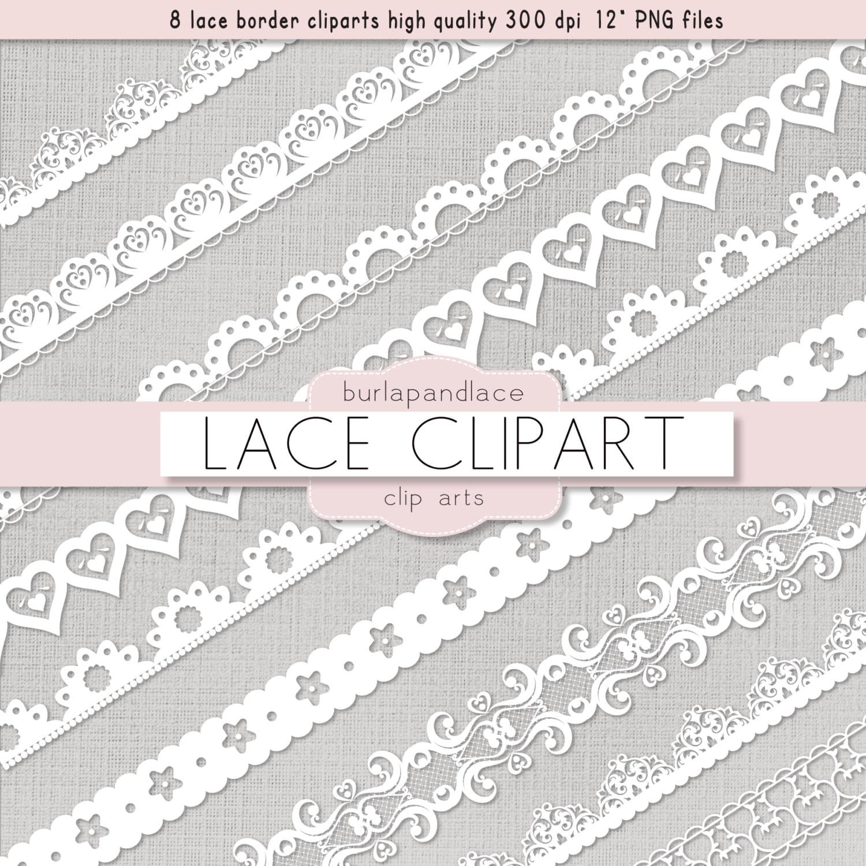 Clipart white lace borders clip art lace lace border