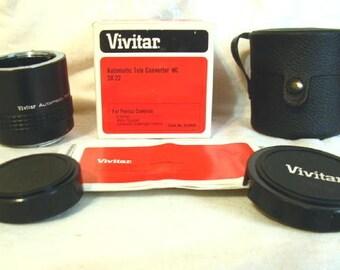 Vivitar MC Tele Converter 3X-22 For Pentax Camera K series New Old Stock #mary