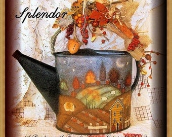 Autumn Splendor - Painted by Martha Smalley,  Painting With Friends E Pattern