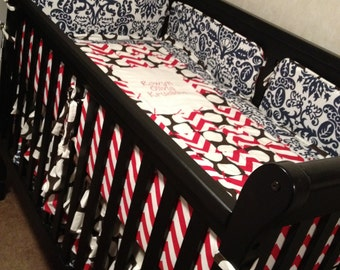 Custom Crib Bedding Set