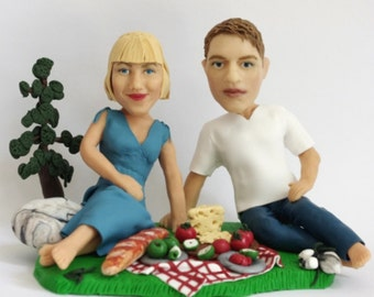 Custom figurine from your photo with many hand-made realistic details - 100% Money-Back Guarantee