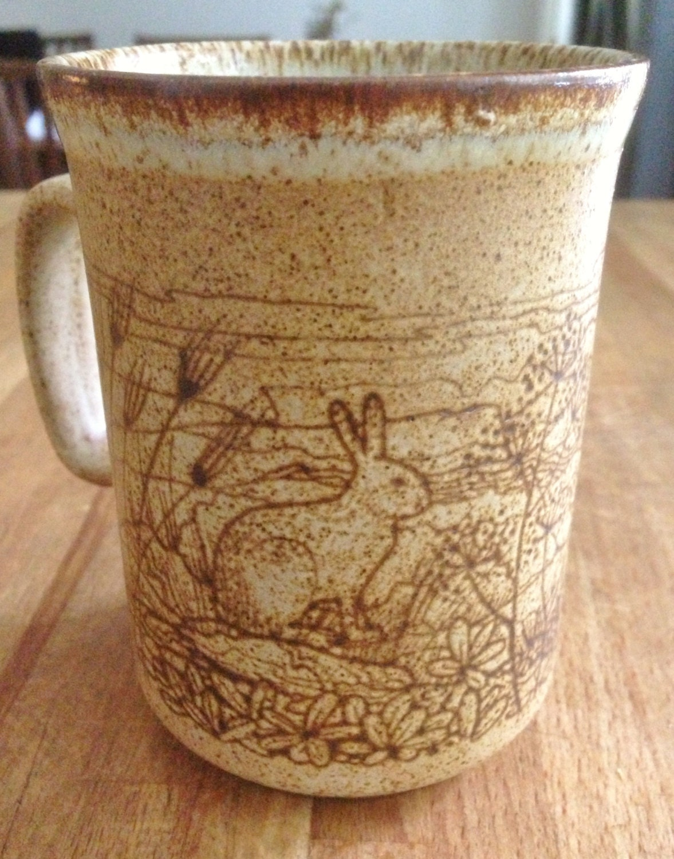 Dunoon Ceramics Scotland Stoneware Mug With By