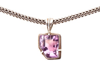 Amethyst 875 - Pendant - Sterling Silver - Amethyst