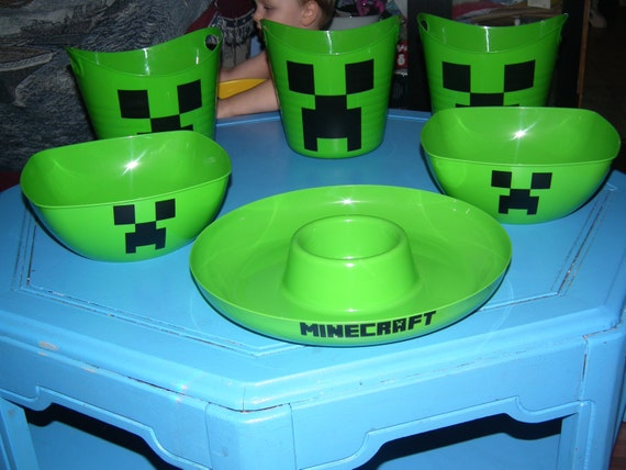 minecraft unofficial party supplies. Black Bedroom Furniture Sets. Home Design Ideas