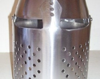SCA, Larp, 13c Style Pembridge Great Helm, Head Armor, USA Made