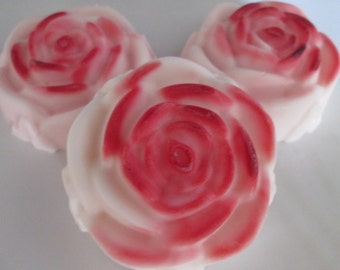 how to make rose scented soap