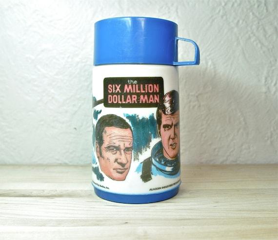 6 Million Dollar Man Thermos