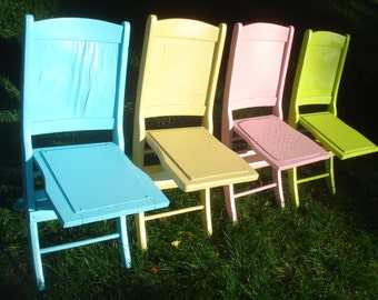 Folding Lawn Chair Etsy