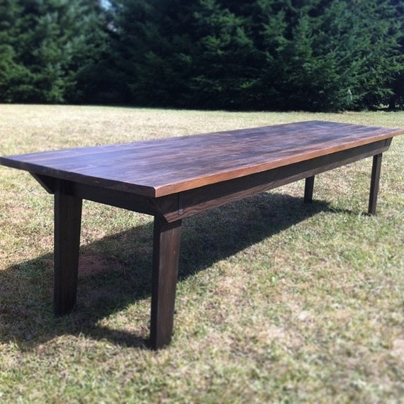 Items similar to Rustic Farm Table for Large Dining Space  : il570xN497392521kk7t from www.etsy.com size 570 x 570 jpeg 97kB