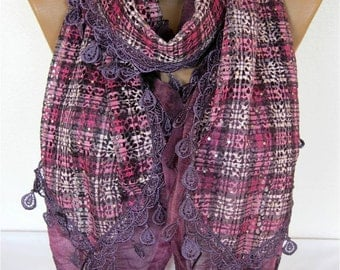 ON SALE !!Trend Scarf- Fashion Scarf-  Shawls-Scarves-Gift Scarf -for her-Fashion accessories