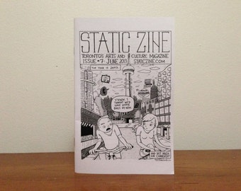 Static Zine #7: The Future