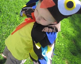 Custom children's owl costume.
