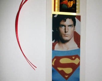 SUPERMAN Christopher Reeve - 35mm Film Cell Bookmark