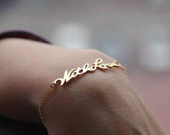 Signature Bracelet Handwriting Bracelet Personalized Name