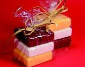 Goat's Milk Soap with Strawberries and Oatmeal
