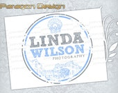 Premade Logo and Watermark - Customized For Photography / Any Business - Vector Logo Design (019)