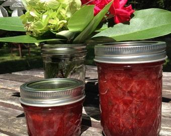 Strawberry Jam 4oz, 8oz