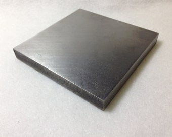 "RMP Steel Bench Block - 4"" x 4"" x 1/2"" - Flat Anvil Jewelers Too"