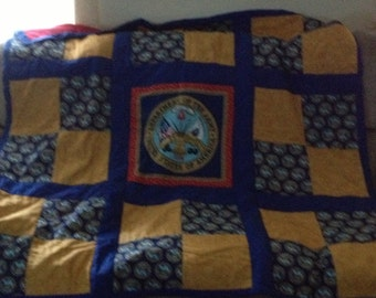 Army Military Quilt
