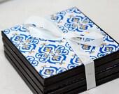 Decorative Porcelain Coasters