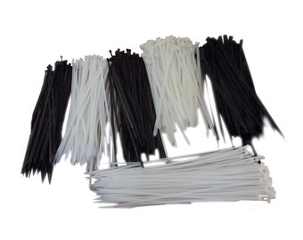 "100pk 12"" Utility Cable Zip Ties - Various Size and Colors"