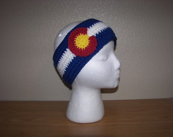 Colorado Flag Headband Earwarmer