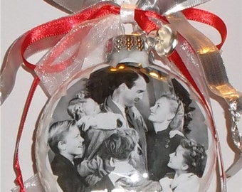 Its a Wonderful Life inspired Tribute Christmas Ornament
