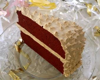 Mailable Red Velvet Cake Postcard Standard Size