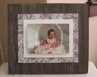 5 x 7 Rustic Chic Picture Frame