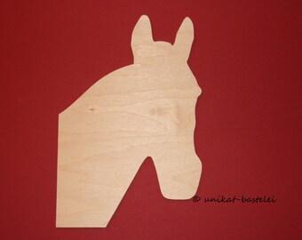 Horsehead - wooden