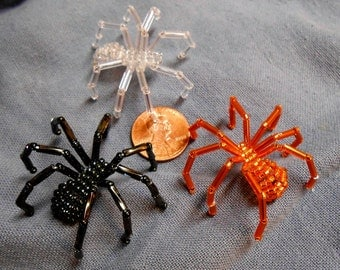 Beaded Spider pin accessory - medium