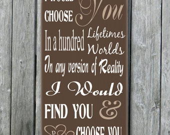 Anniversary Quotes For Her ~ Popular items for 5th anniversary gift ...
