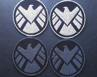 Avengers SHIELD Black Widow Cosplay Patch