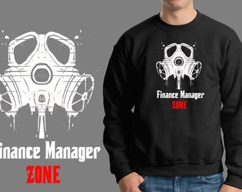 Finance Manager Zone Sweater Finance Manager Sweatshirt Gift For Finance Manager Finance Profession