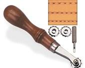 Craftool Overstitch Wheel System - Leather Crafting Supplies - Steampunk LARP Cosplay Renaissance