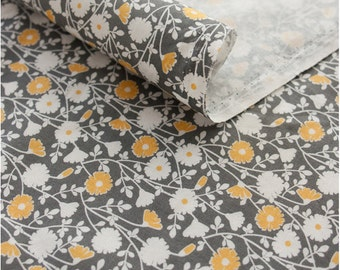 Cotton Fabric Daisy By The Yard