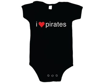 Infant One Piece - I Heart Pirates