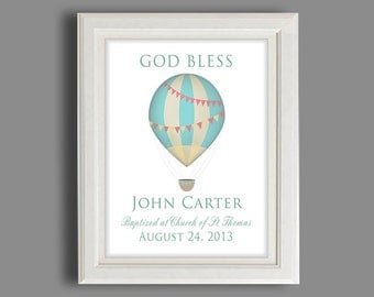 Baptism Gift - Christening Gift For Boys - Personalized Baptism Gift - Gift From Godparents - Dedication Gift For Baby Boy