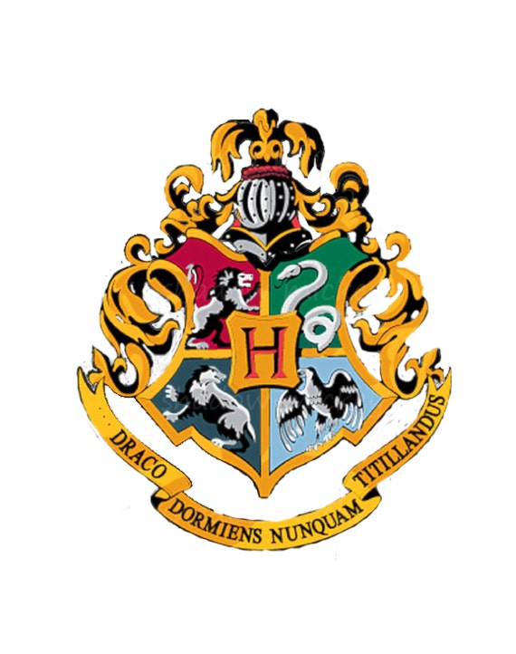 Items similar to Harry Potter crest hoody Harry Potter ...