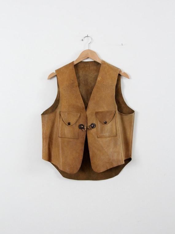 Vintage Mens Vest 116