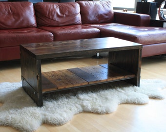 Reclaimed Wood Coffee Table: Pritz Design