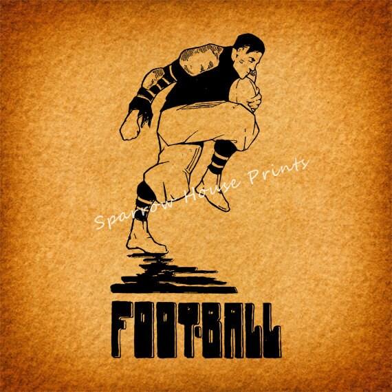 Vintage Football Wall Art - Elitflat