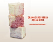 Orange-Raspberry Creamsicle Marshmallow by Evil Sweets