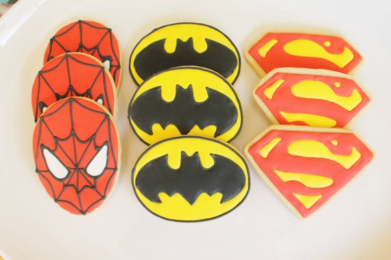 Spiderman, Batman, Superman