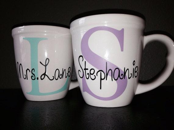 Items similar to Custom Personalized Coffee Mug on Etsy