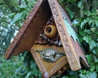 elegant bird house. Black Bedroom Furniture Sets. Home Design Ideas