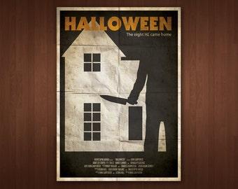 Halloween Poster (Multiple Sizes)