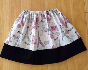 Girls Paris Skirt