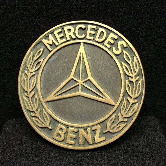 Mercedes Benz Belt: Mercedes-Benz Logo Brass Belt Buckle Merc Benz AMG SLS F1